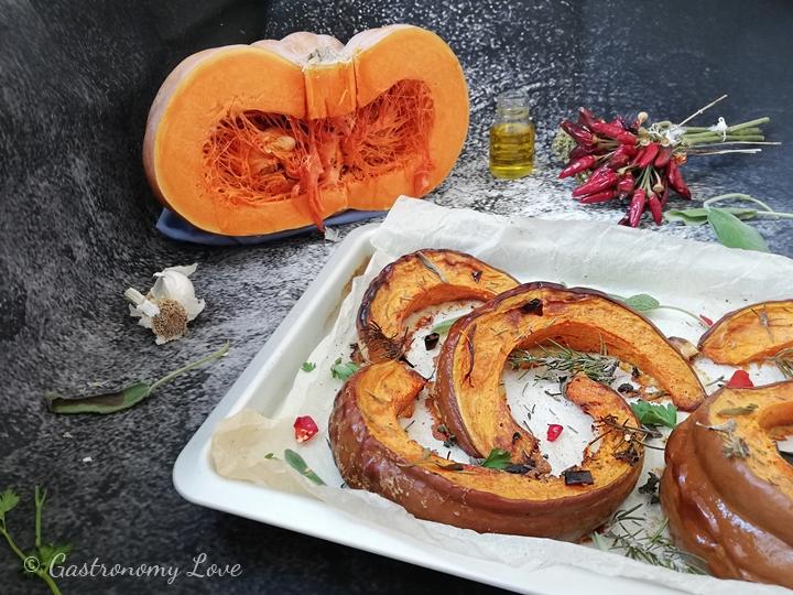 zucca al forno light ricetta facile e veloce
