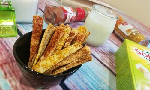 Chips di tofu