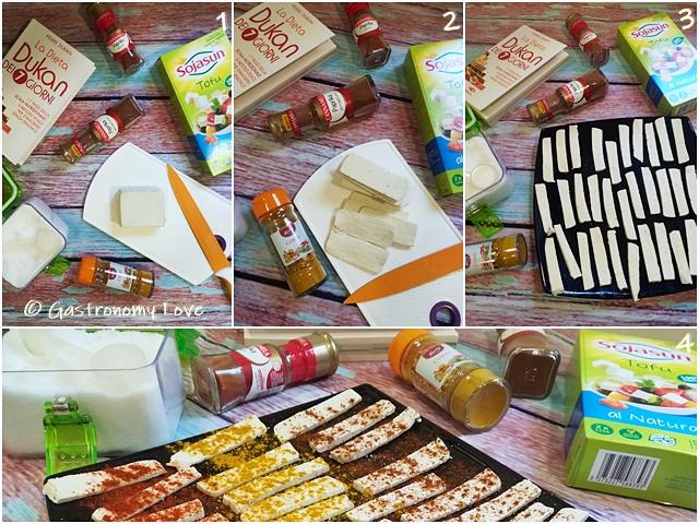 Chips di tofu_preparazione