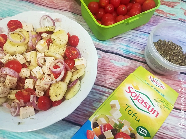 Insalata Greca versione Dukan: light, proteica, veggie