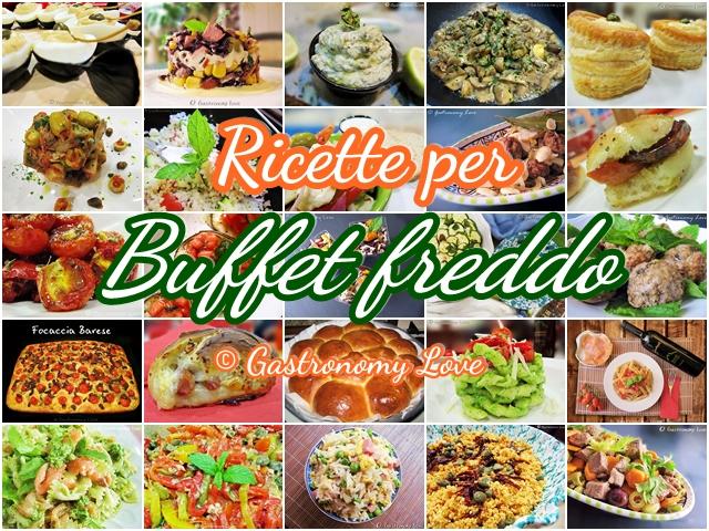 Raccolta di ricette per buffet freddo