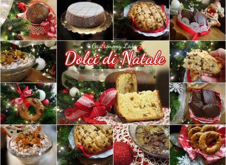 Raccolta di dolci di Natale