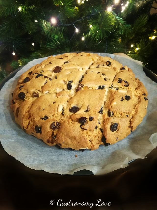 Pan dolce basso genovese