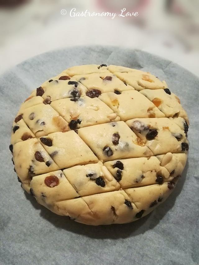 Pan dolce genovese basso_preparazione