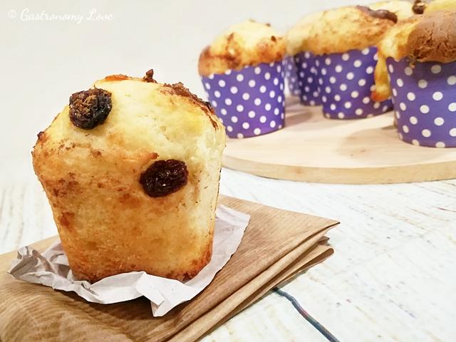 Muffin alla ricotta senza olio né burro