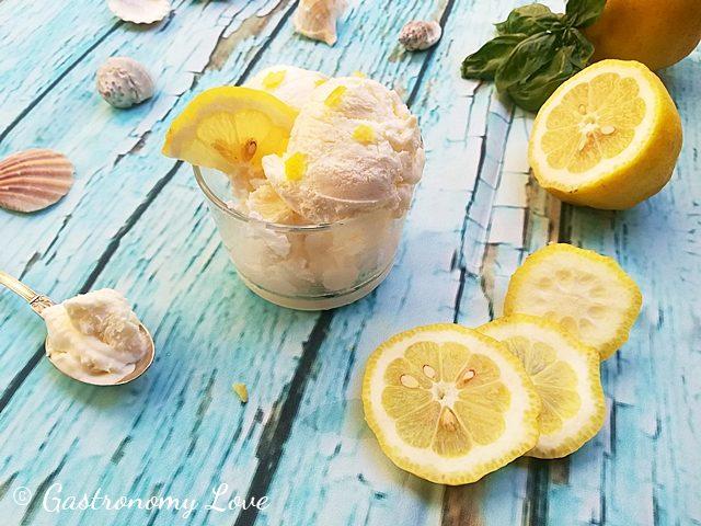 Gelato furbo al limone senza gelatiera