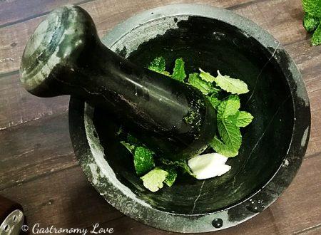 Pesto di menta: freschissimo e senza formaggio