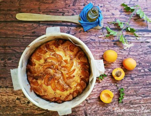 Torta facile alle albicocche senza burro