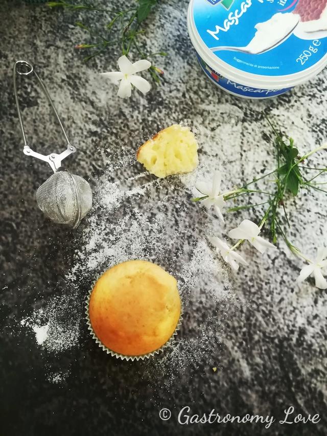 Muffins al mascarpone di Luca Montersino