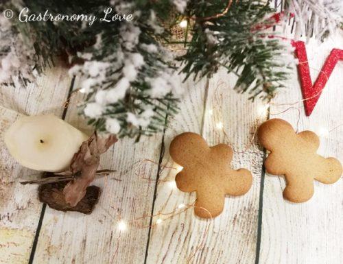 Gingerbread: biscotti di pan di zenzero.