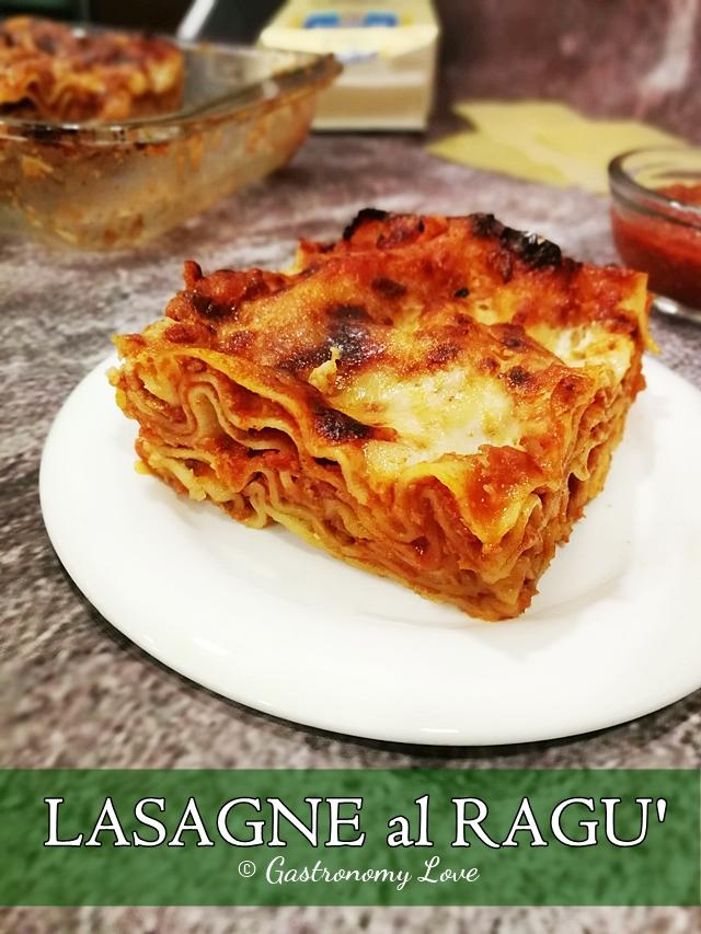 Lasagne al ragù facili e gustose