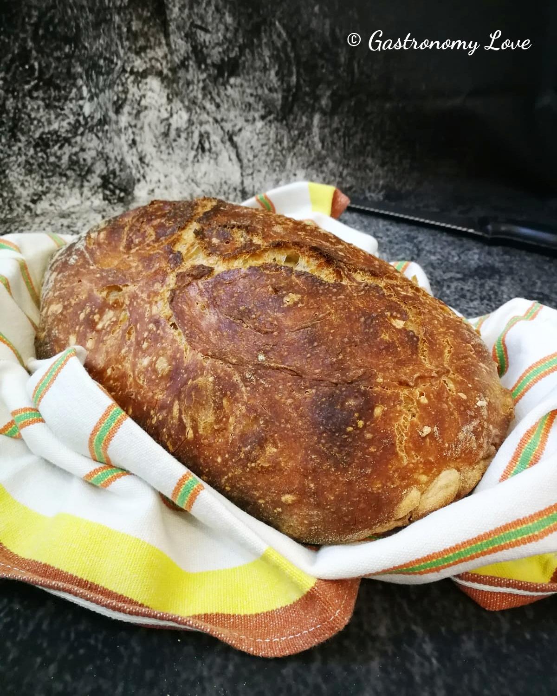 Pane senza impasto croccantissimo