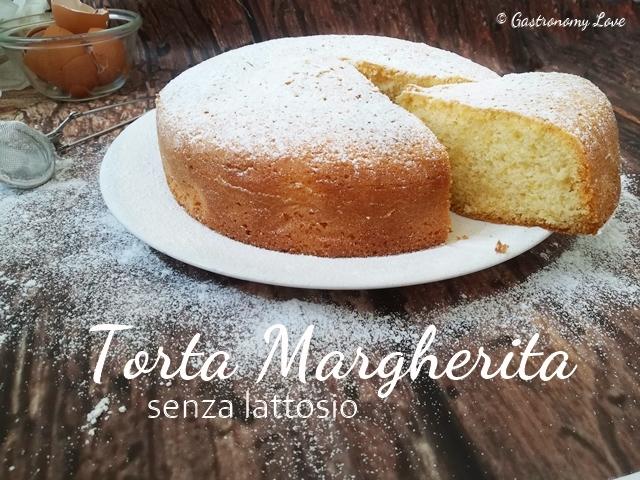 Torta Margherita senza lattosio