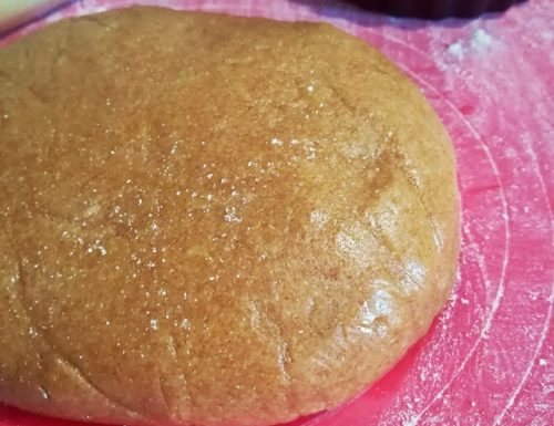 Pasta frolla integrale con farina di farro senza burro