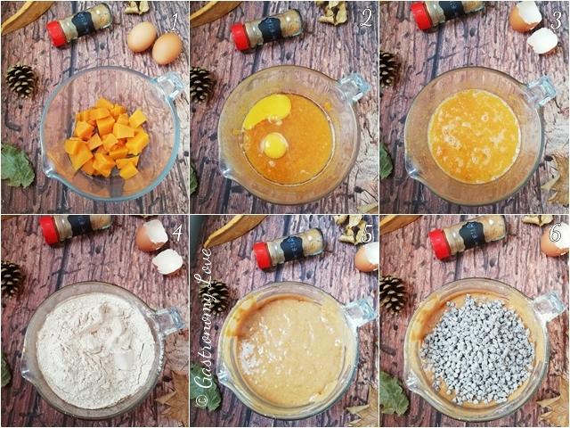 Muffin zucca e cannella_preparazione