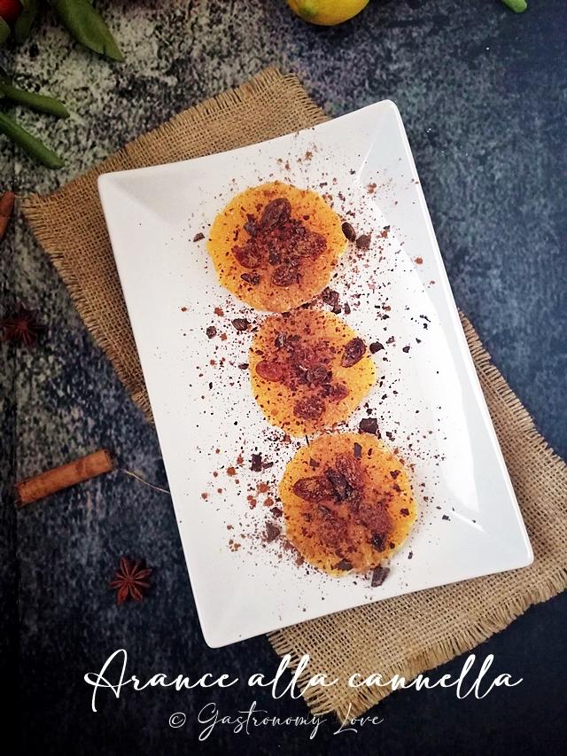 arance alla cannella