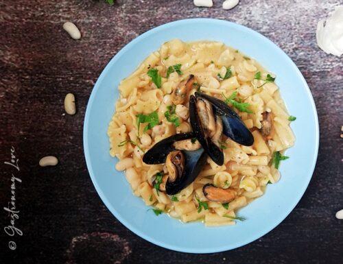 Pasta fagioli e cozze cremosa, ricetta napoletana