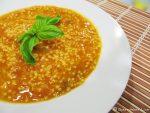 zuppa di zucca e miglio