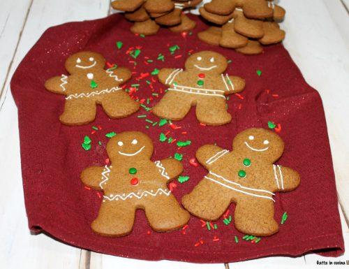 Biscotti pan di zenzero (gingerbread)