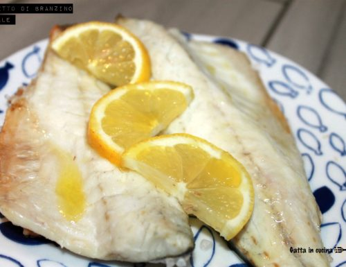 Filetto di branzino al sale
