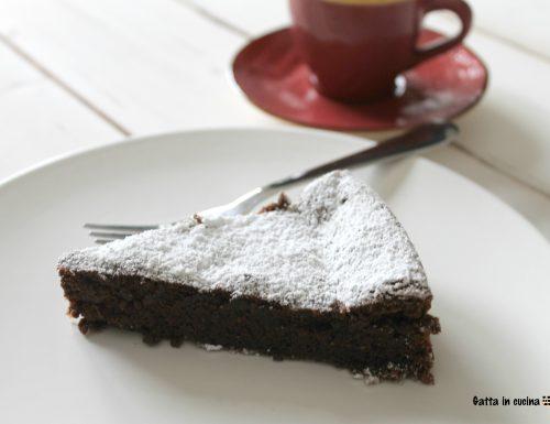 Torta tenerina al cioccolato e caffè