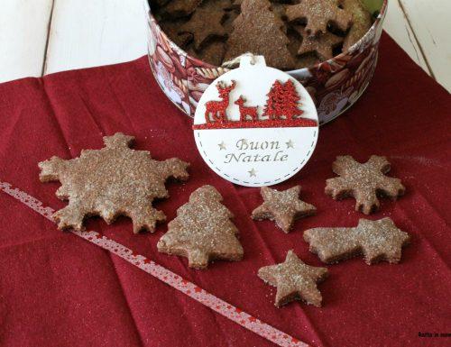 Biscotti al cioccolato e cannella