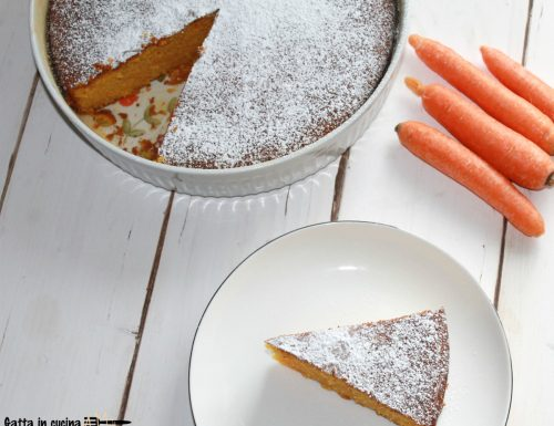 Torta Camilla (torta di carote)