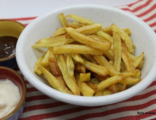 Patatine fritte a freddo