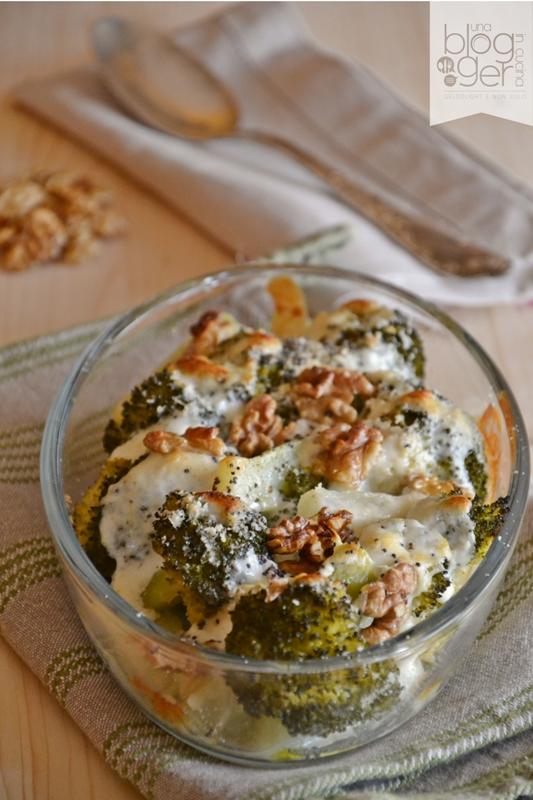 Broccoli gratinati con stracchino e noci (1)