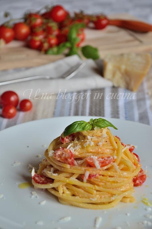 spaghetti alla chitarra con ricotta e pendolini (2)