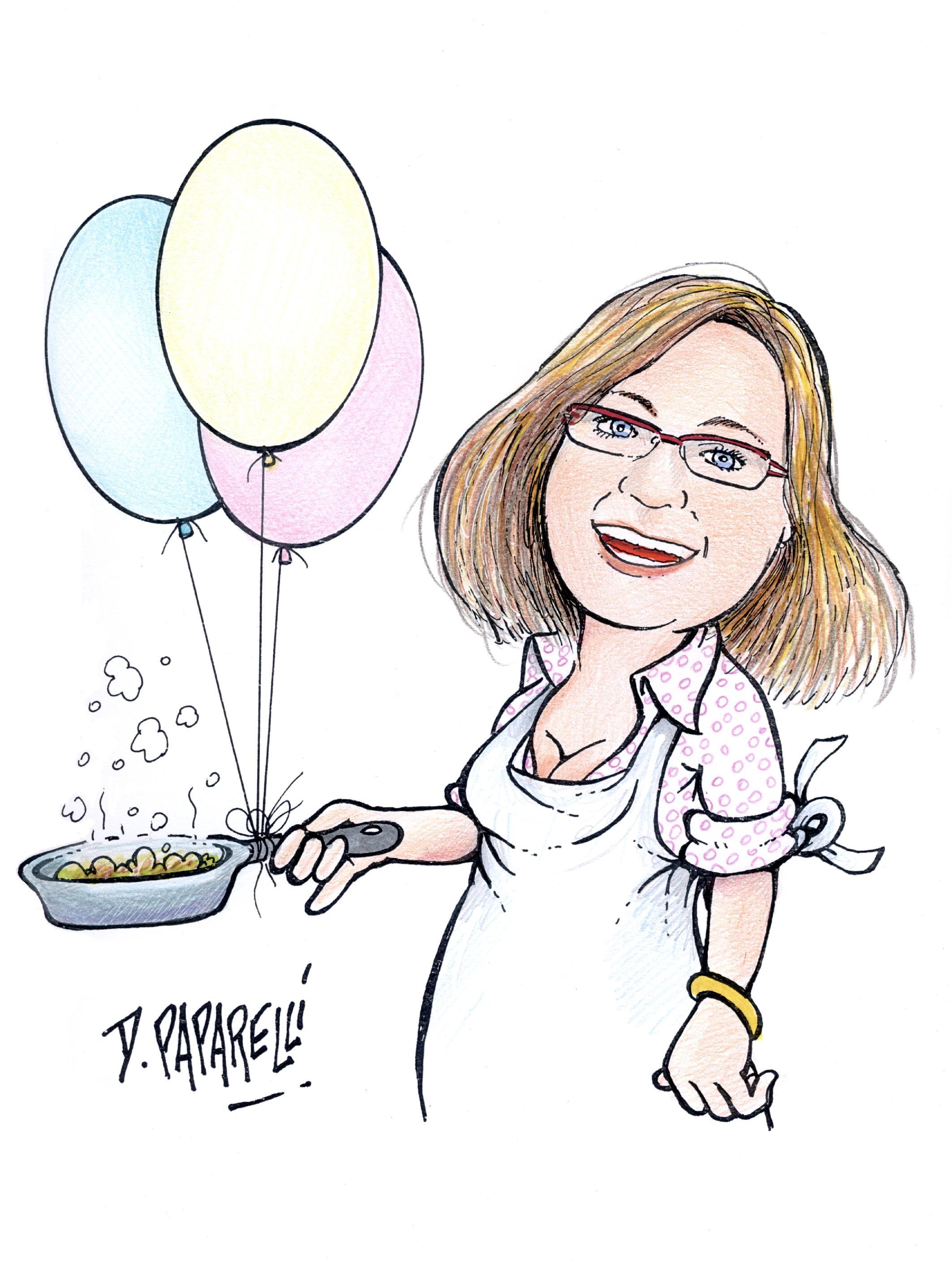 """Uscita Libro """"Una Blogger In Cucina"""" #966F35 2125 2824 Ricette Di Cucina Disegni"""