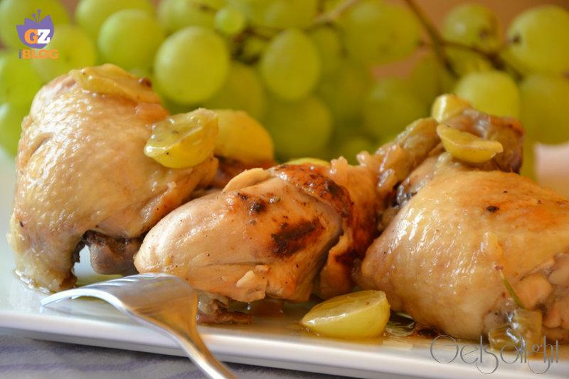 pollo all'uva