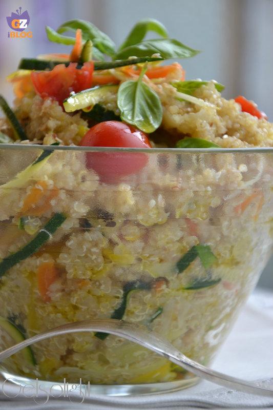 Quinoa pilaf  macro