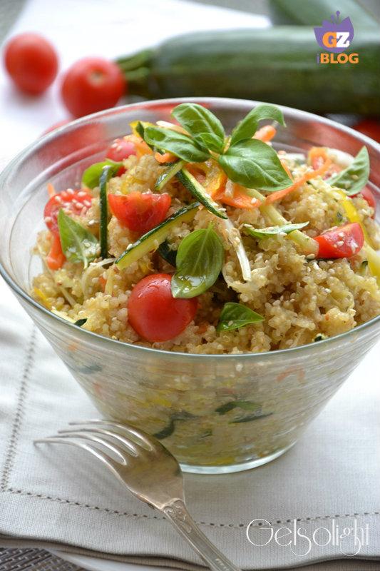 Quinoa pilaf vert