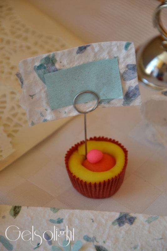 segnaposto cupcake carta riso