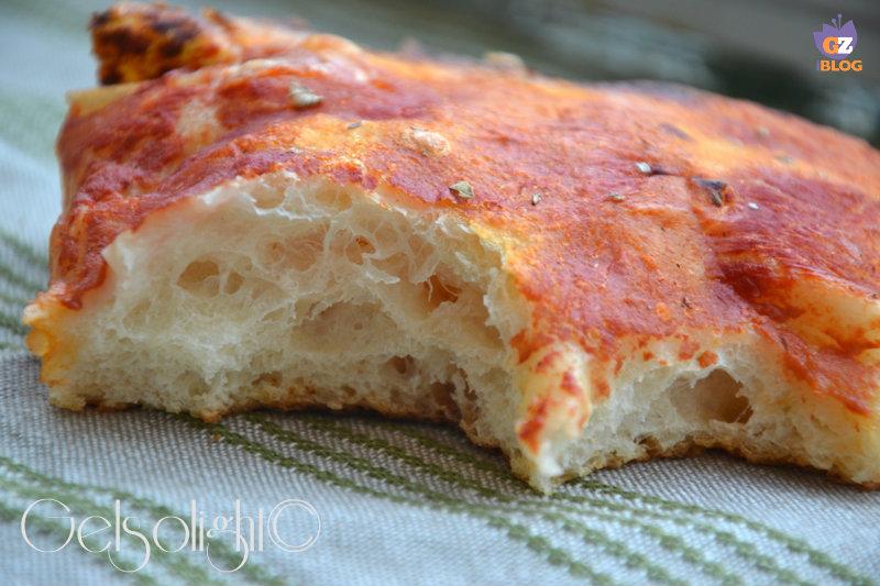 pizza con lievito madre part