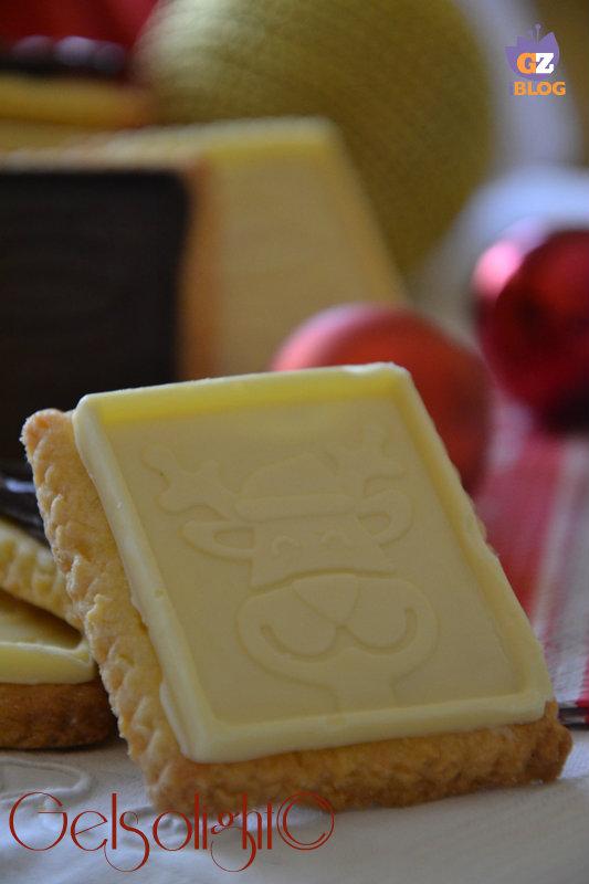 biscotti di natale due cioccolati bianco
