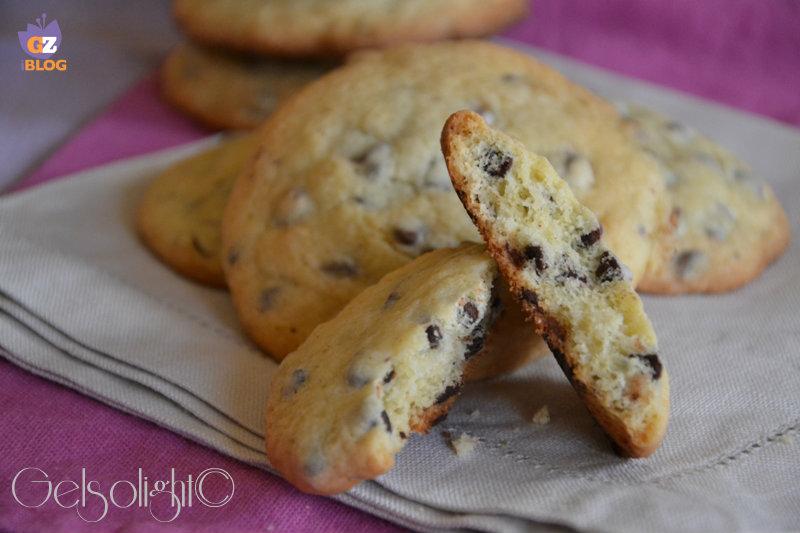 cookies con gocce di cioccolato americani or