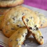 cookies con gocce di cioccolato americani vert
