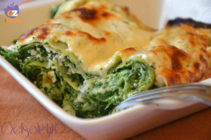 lasagne spinaci e ricotta light ok
