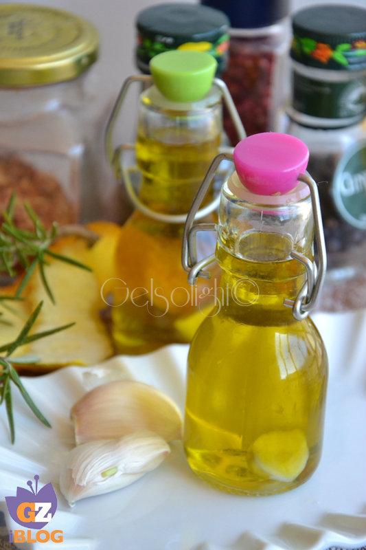oli aromatizzati aglio