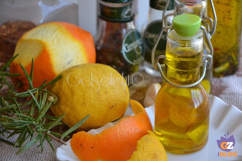 oli aromatizzati agrumi