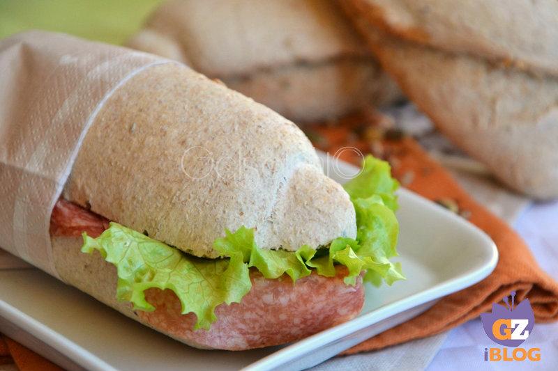 pane integrale con lievito madre or