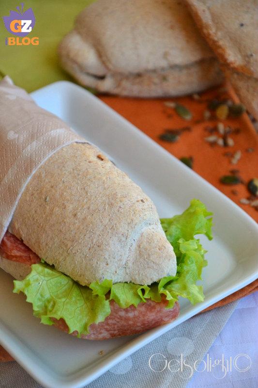 pane integrale con lievito madre vert