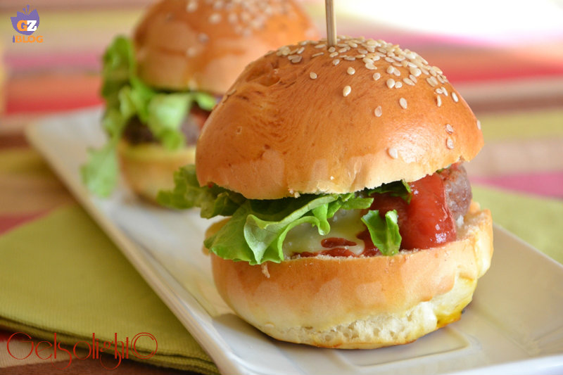 panini per hamburger burger buns or