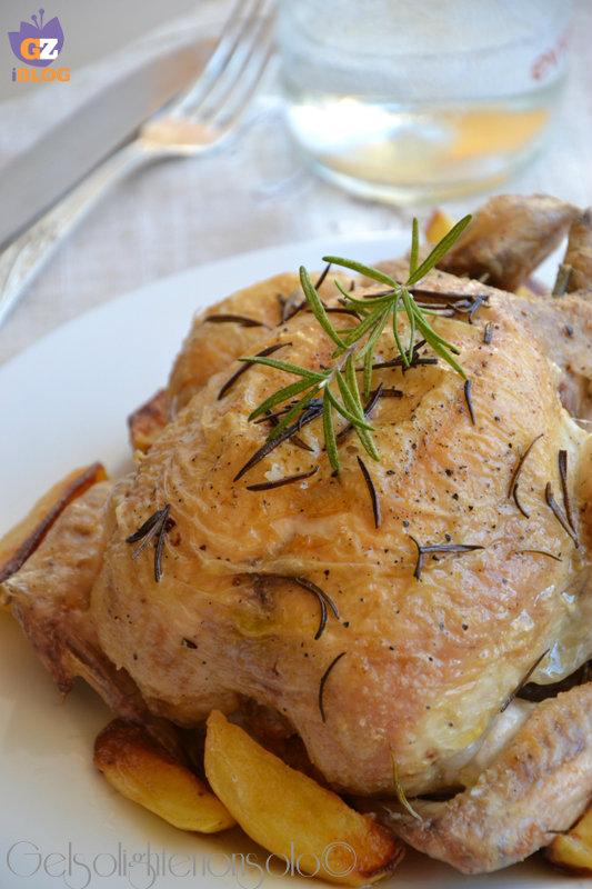 pollo al lardo vert