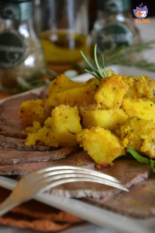 roastbeef al sale con patate sabbiose aromatiche vert