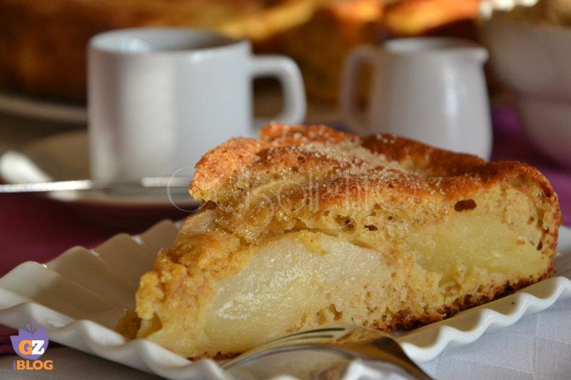 torta macedonia fetta
