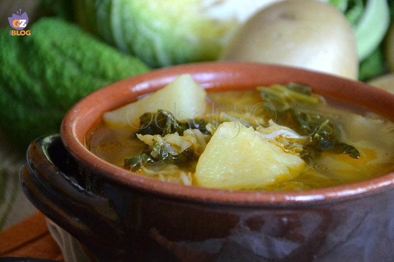 zuppa di verza e patate ricetta antica or