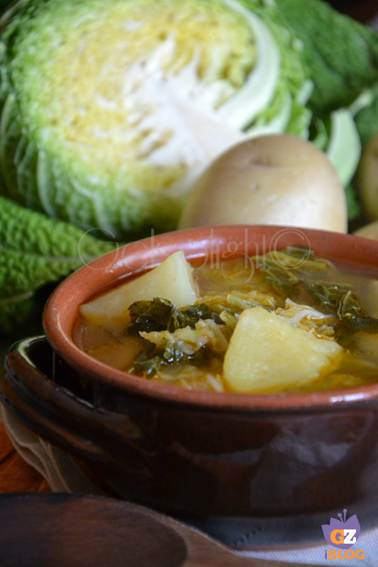 zuppa di verza e patate ricetta antica vert